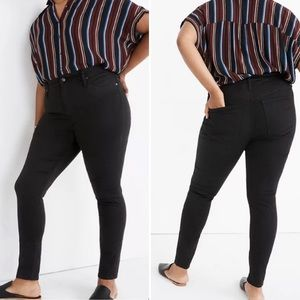 Madewell Curvy High Rise Skinny jeans size 35P